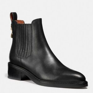 Coach Bowery Leather Chelsea Boot